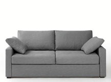 canape lit gris couchage express timor redoute