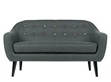 canape ritchie gris anthracite arc en ciel made