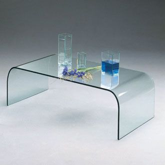 Table basse verre City Delamaison