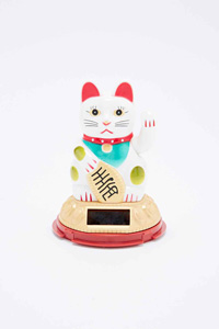 Chat porte bonheur chinois chez Urban Outfitters