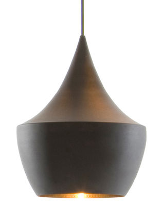 Suspension Beat Fat noir Tom Dixon sur Madeindesign.com