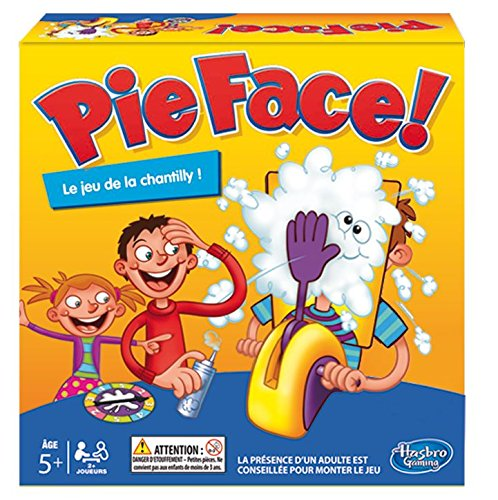 pie face jeu chantilly hasbro promo