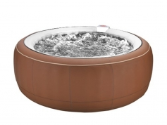 Spa gonflable marron
